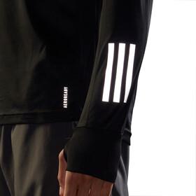 adidas OWN The Run LS Shirt Men, noir